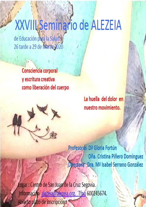 SEMINARIO XXVIII Marzo 2020